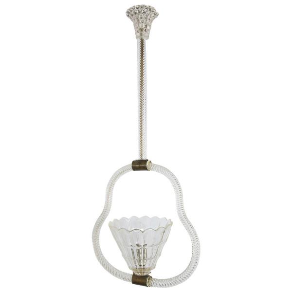 venetian murano barovier glass chandelier
